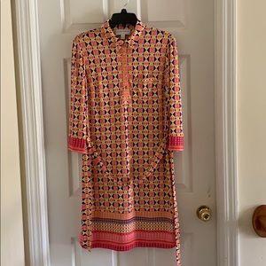 Donna Morgan colorful dress